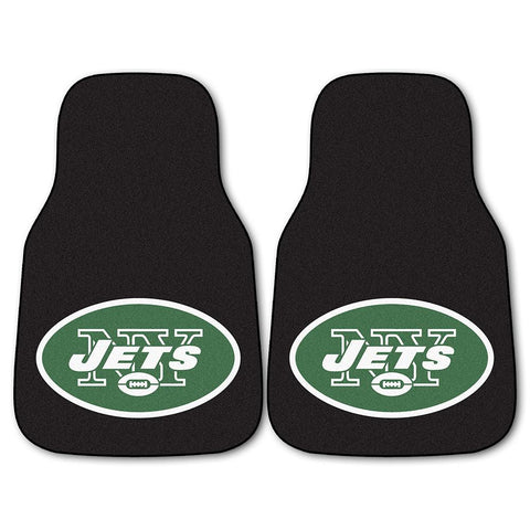 New York Jets NFL Car Floor Mats (2 Front)