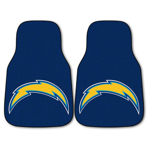 San Diego Chargers NFL Car Floor Mats (2 Front)