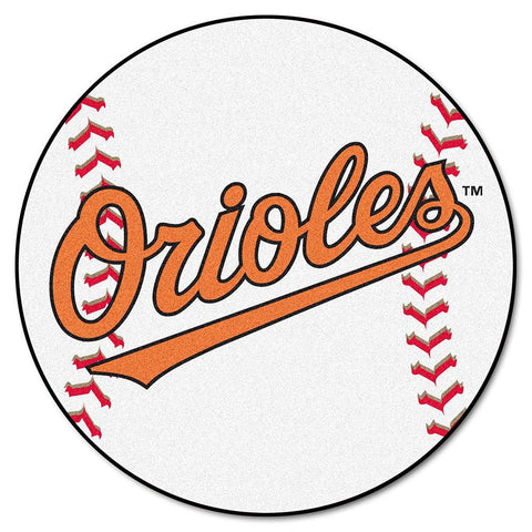 Baltimore Orioles MLB Baseball Round Floor Mat (29)