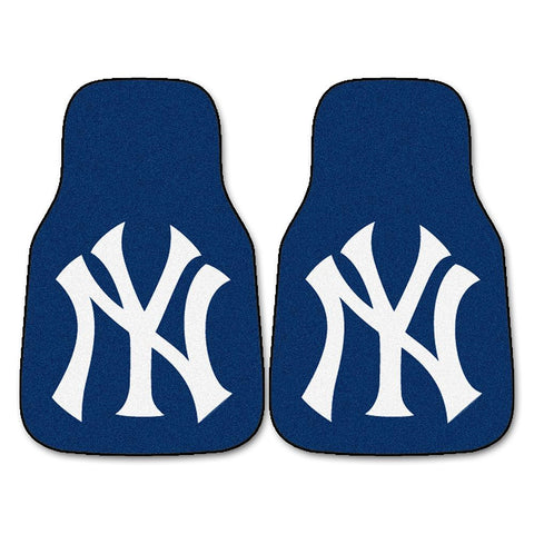 New York Yankees MLB Car Floor Mats (2 Front)