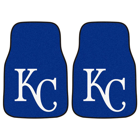 Kansas City Royals MLB Car Floor Mats (2 Front)