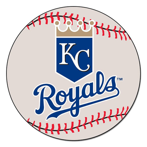 Kansas City Royals MLB Baseball Round Floor Mat (29)
