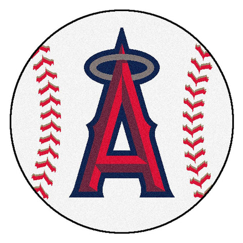 Anaheim Angels MLB Baseball Round Floor Mat (29)