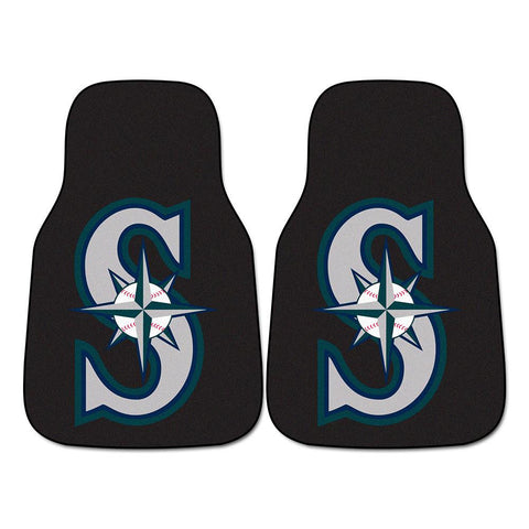 Seattle Mariners MLB Car Floor Mats (2 Front)