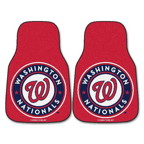 Washington Nationals MLB Car Floor Mats (2 Front)
