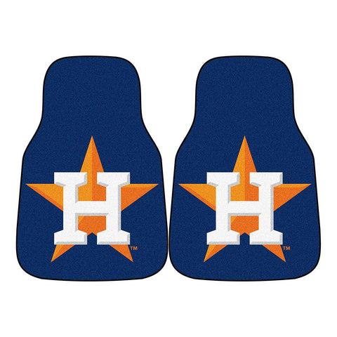 Houston Astros MLB Car Floor Mats (2 Front)