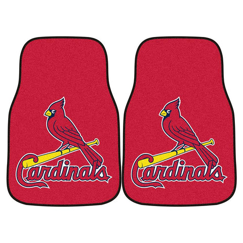 St. Louis Cardinals MLB Car Floor Mats (2 Front)