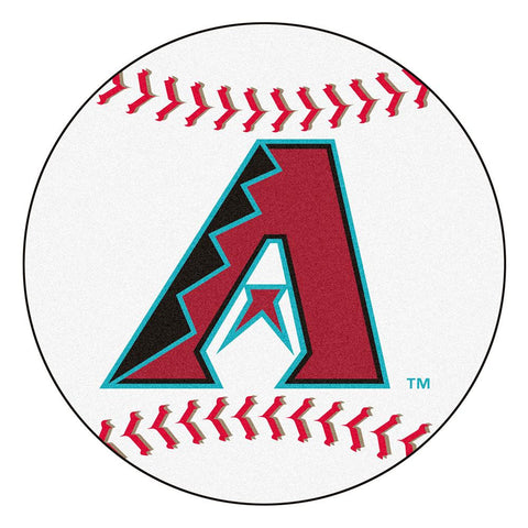 Arizona Diamondbacks MLB Baseball Round Floor Mat (29)