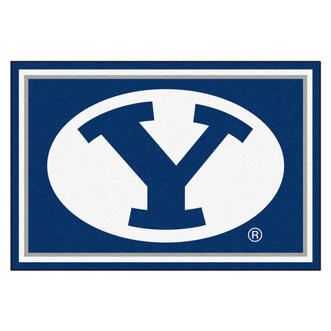 Brigham Young Cougars NCAA Floor Rug (5x8')