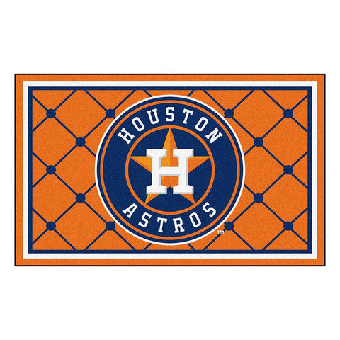 Houston Astros MLB Floor Rug (4'x6')