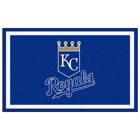 Kansas City Royals MLB Floor Rug (4'x6')