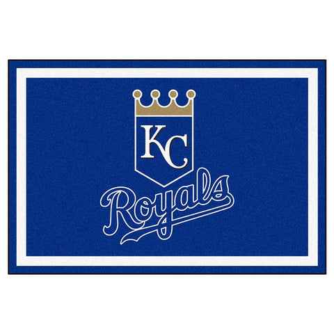 Kansas City Royals MLB Floor Rug (5x8')
