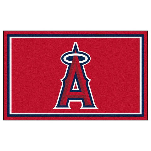 Anaheim Angels MLB Floor Rug (4'x6')