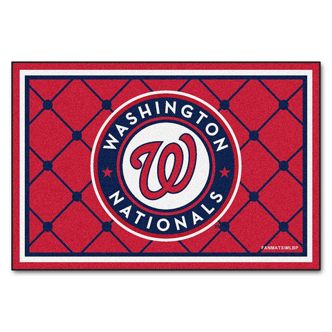 Washington Nationals MLB Floor Rug (5x8')