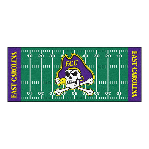 East Carolina Pirates NCAA Floor Runner (29.5x72)