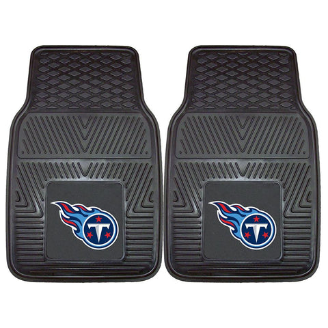 Tennessee Titans NFL Heavy Duty 2-Piece Vinyl Car Mats (18x27)