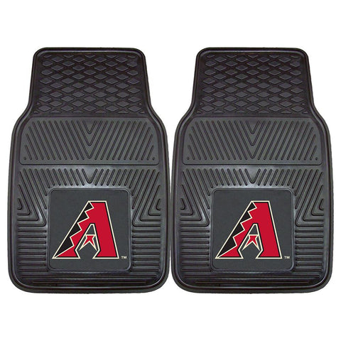 Arizona Diamondbacks MLB Heavy Duty 2-Piece Vinyl Car Mats (18x27)