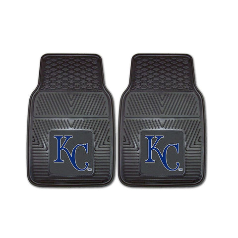 Kansas City Royals MLB Heavy Duty 2-Piece Vinyl Car Mats (18x27)