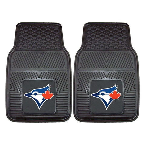 Toronto Blue Jays MLB Heavy Duty 2-Piece Vinyl Car Mats (18x27)