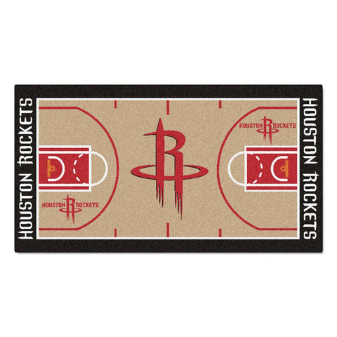 Houston Rockets NBA Large Court Runner (29.5x54)