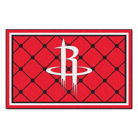 Houston Rockets NBA 5x8 Rug (60x92)
