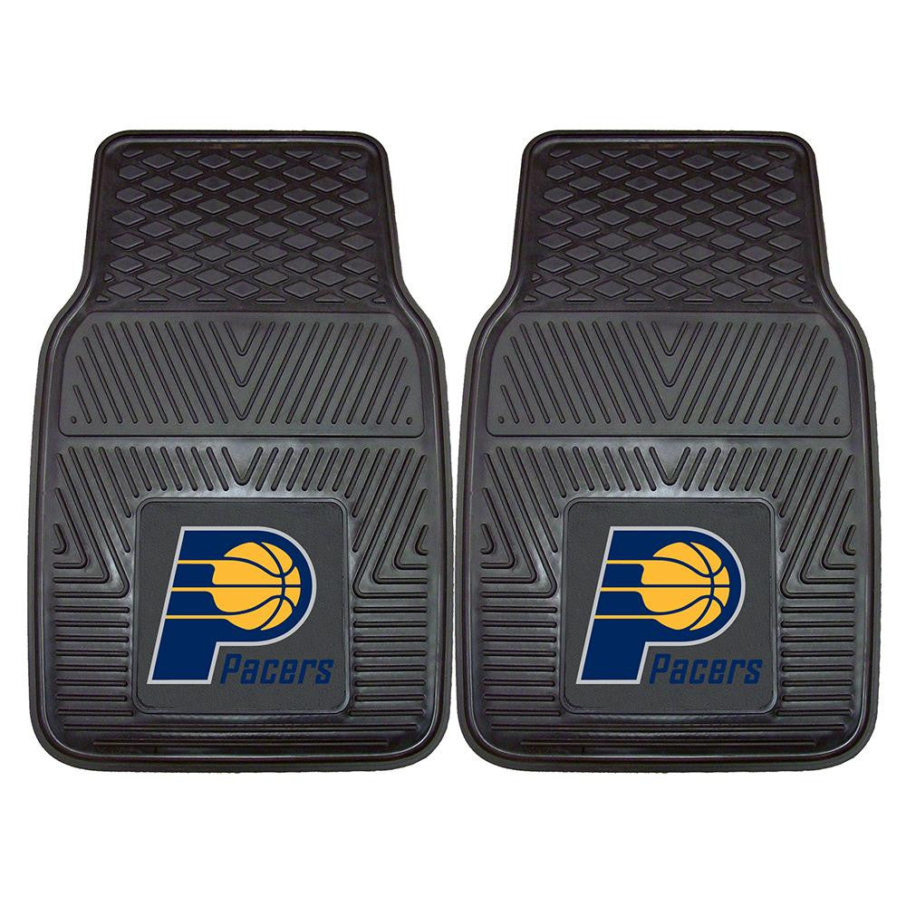 Indiana Pacers NBA Heavy Duty 2-Piece Vinyl Car Mats (18x27) - 2