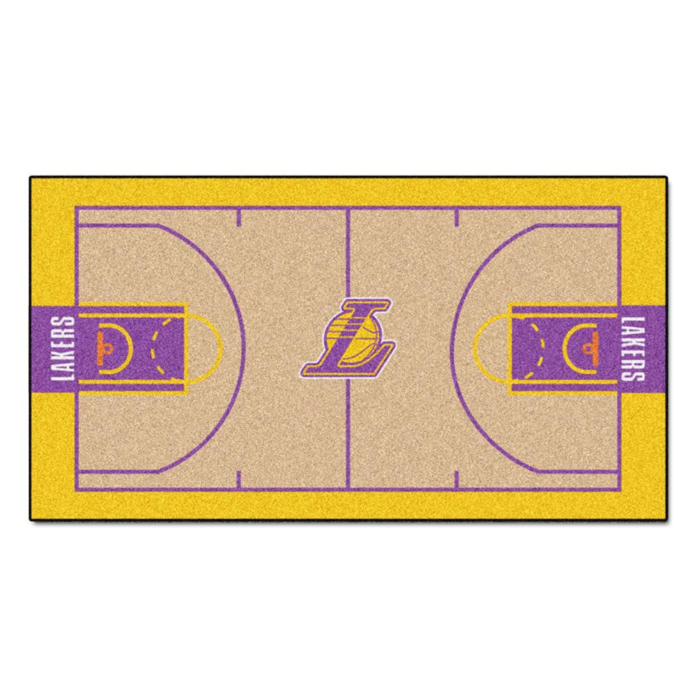 Los Angeles Lakers NBA Large Court Runner (29.5x54) - 2