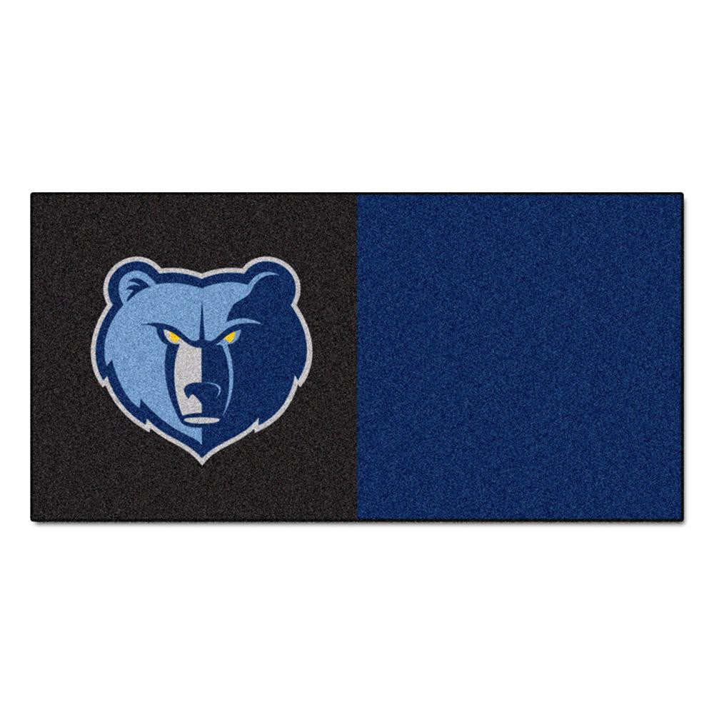 Memphis Grizzlies NBA Carpet Tiles (18x18 tiles) - 2