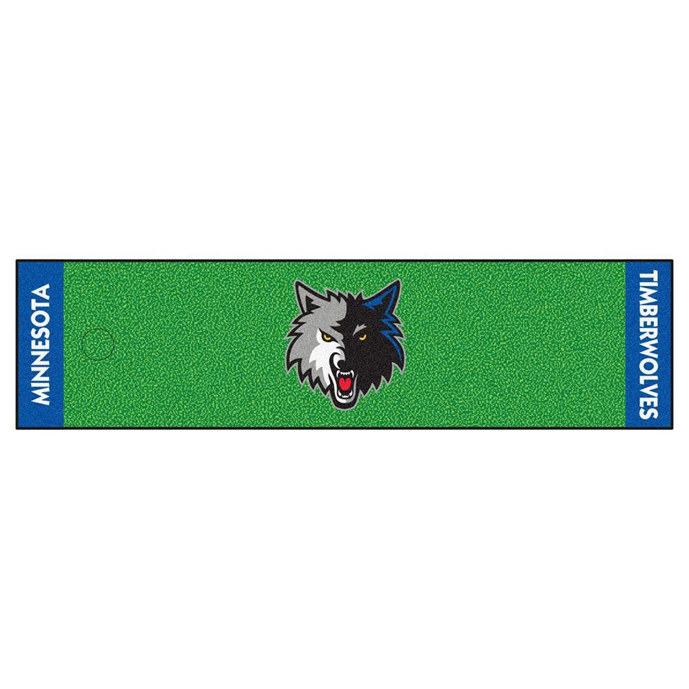 Minnesota Timberwolves NBA Putting Green Runner (18x72) - 2