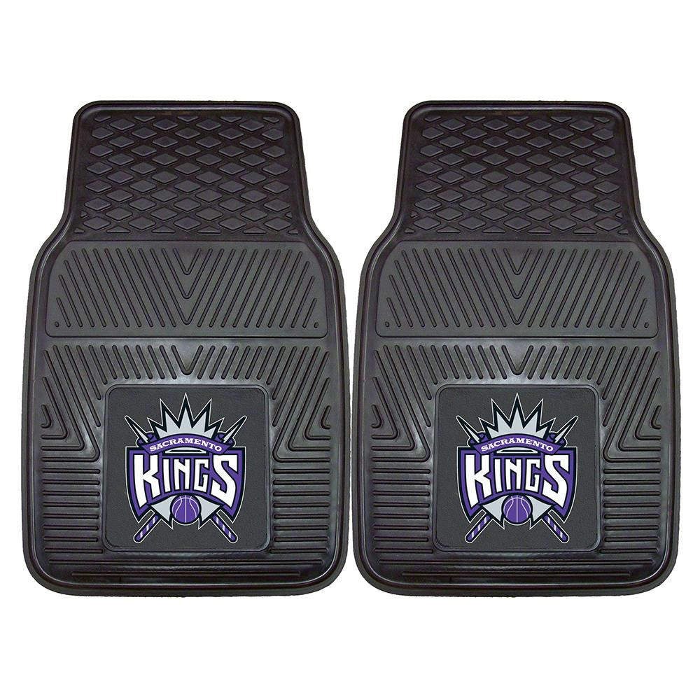 Sacramento Kings NBA Heavy Duty 2-Piece Vinyl Car Mats (18x27) - 2