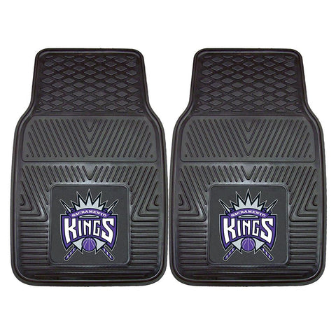 Sacramento Kings NBA Heavy Duty 2-Piece Vinyl Car Mats (18x27)
