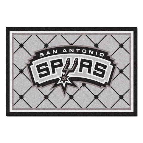San Antonio Spurs NBA 5x8 Rug (60x92)