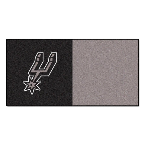San Antonio Spurs NBA Carpet Tiles (18x18 tiles)