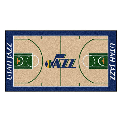 Utah Jazz NBA Large Court Runner (29.5x54)
