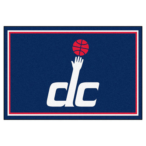 Washington Wizards NBA 5x8 Rug (60x92)