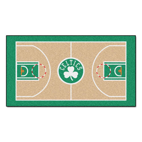 Boston Celtics NBA 2x4 Court Runner (24x44)