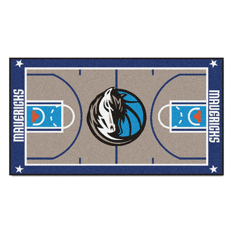 Dallas Mavericks NBA 2x4 Court Runner (24x44)