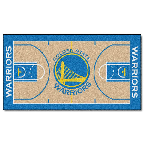 Golden State Warriors NBA 2x4 Court Runner (24x44)