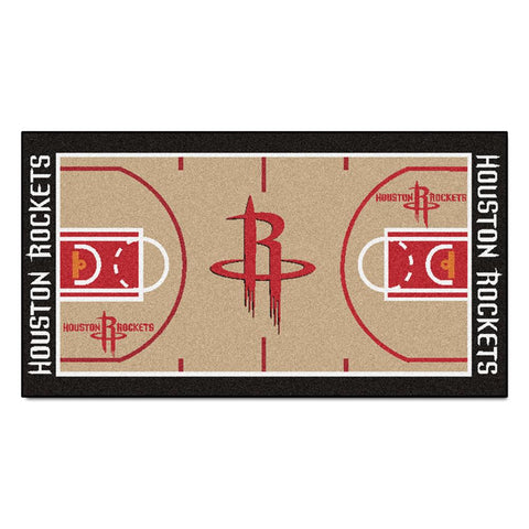 Houston Rockets NBA 2x4 Court Runner (24x44)