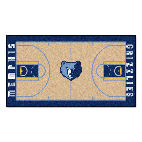 Memphis Grizzlies NBA 2x4 Court Runner (24x44)