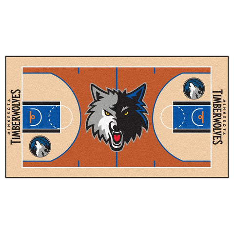 Minnesota Timberwolves NBA 2x4 Court Runner (24x44)