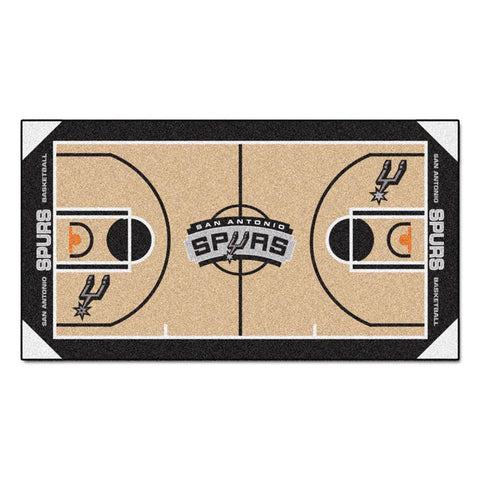 San Antonio Spurs NBA 2x4 Court Runner (24x44)