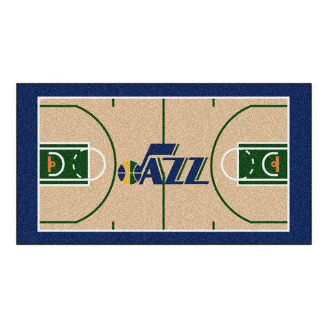 Utah Jazz NBA 2x4 Court Runner (24x44)