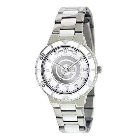 Chicago Cubs MLB Ladies Pro Pearl Series Watch
