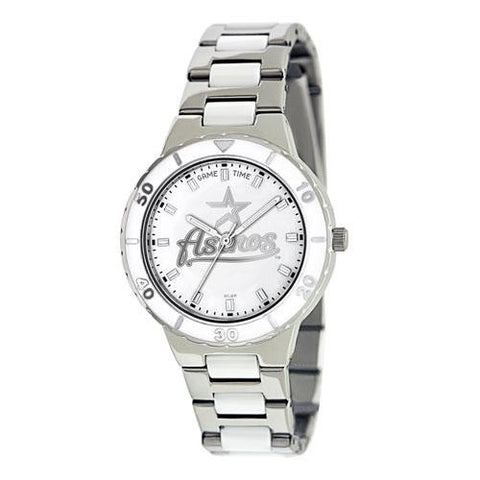 Houston Astros MLB Ladies Pro Pearl Series Watch