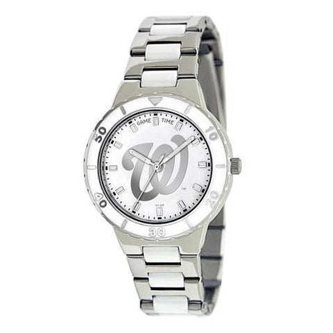 Washington Nationals MLB Ladies Pro Pearl Series Watch