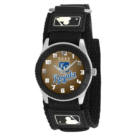 Kansas City Royals MLB Kids Rookie Series watch (Black)