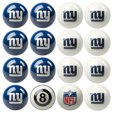New York Giants NFL 8-Ball Billiard Set