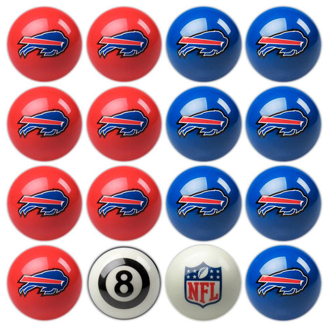 Buffalo Bills NFL 8-Ball Billiard Set