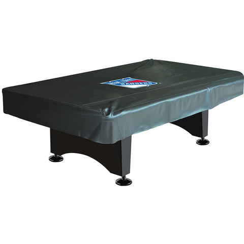 New York Rangers NHL 8 Foot Pool Table Cover